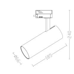 Aplique LED FLEX 1.2W  30°